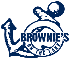 Brownie's on the Lake - logo